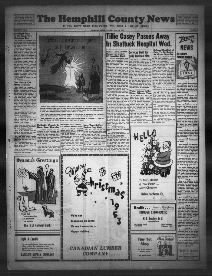 othello newspaper project