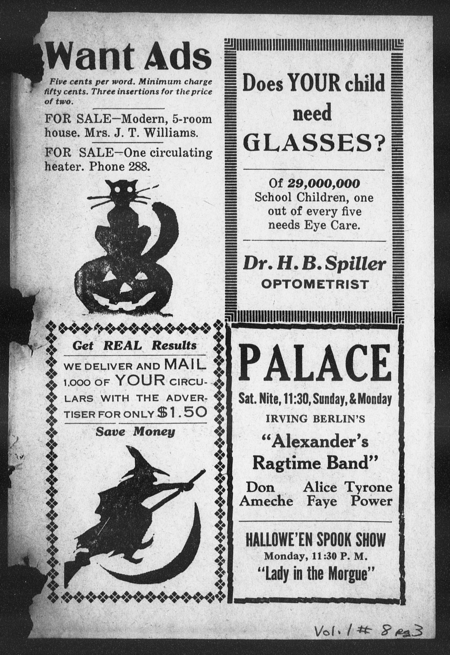 The Canadian Advertiser (Canadian, Tex), Vol. 1, No. 8, Ed. 1, Friday, October 28, 1938                                                                                                      6