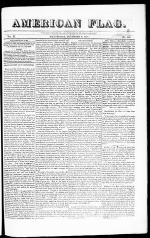 Primary view of American Flag. (Matamoros, Tamaulipas, Mexico), Vol. 2, No. 156, Ed. 1 Wednesday, December 8, 1847