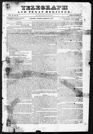 Telegraph and Texas Register (Columbia, Tex.), Vol. 2, No. 12, Ed. 1, Tuesday, March 28, 1837