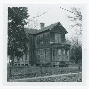 Primary view of object titled '[Simpson-Williamson House Photograph #1]'.
