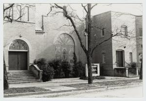 Primary view of object titled '[First Methodist Church of Smithville Photograph #2]'.