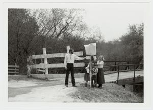 Primary view of object titled '[Medio Creek Bridge Photograph #15]'.