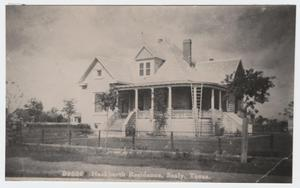 Primary view of object titled '[Paul and Mahala Hackbarth House #7]'.