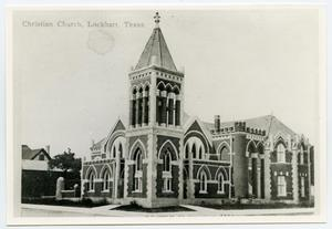Primary view of object titled '[First Christian Church of Lockhart Photograph #7]'.