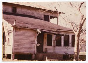 Primary view of object titled '[Toliver-Cone House Photograph #15]'.