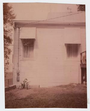 Primary view of object titled '[P. O. Elzner House Photograph #7]'.