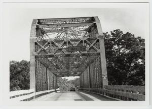 Primary view of object titled '[Brazoria Bridge Photograph #5]'.