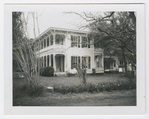 Primary view of object titled '[Hahn House Photograph #1]'.
