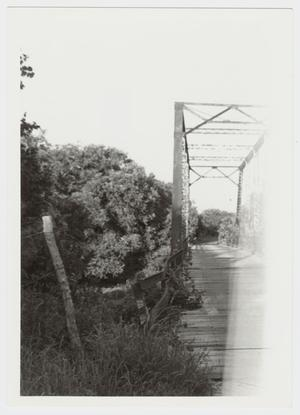 Primary view of object titled '[Medio Creek Bridge Photograph #24]'.