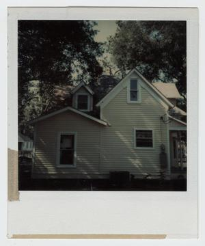 Primary view of object titled '[Cummings-Smith House Photograph #3]'.