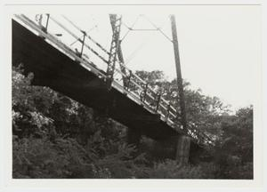 Primary view of object titled '[Medio Creek Bridge Photograph #9]'.