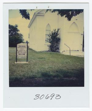 Primary view of object titled '[Flatonia Methodist Church Photograph #3]'.
