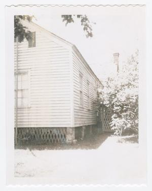 Primary view of object titled '[Montgomery House Photograph #7]'.