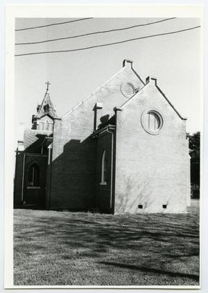 Primary view of object titled '[Ebenezer Lutheran Church Photograph #4]'.