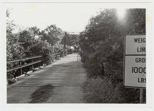 Primary view of object titled '[Medio Creek Bridge Photograph #20]'.