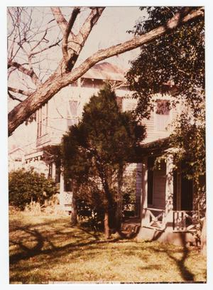 Primary view of object titled '[Toliver-Cone House Photograph #5]'.