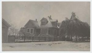 Primary view of object titled '[Paul and Mahala Hackbarth House #6]'.