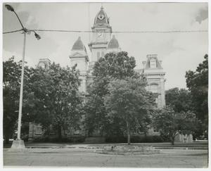 Primary view of object titled '[Caldwell County Courthouse Photograph #1]'.