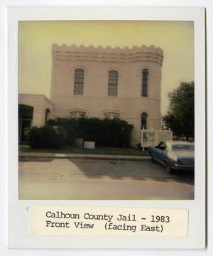 Primary view of object titled '[Calhoun County Jail Photograph #1]'.