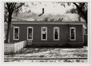 Primary view of object titled '[Kleinert-Hoppe House Photograph #2]'.