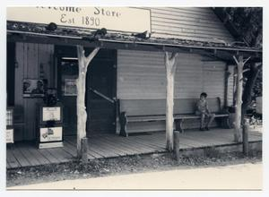 Primary view of object titled '[John Reichle General Merchandise (Welcome Store) Photograph #4]'.