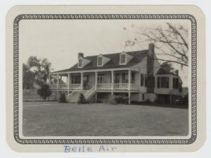 Primary view of object titled '[M. L. Weems House Photograph #2]'.