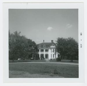 Primary view of object titled '[John T. Wofford Home Photograph #2]'.