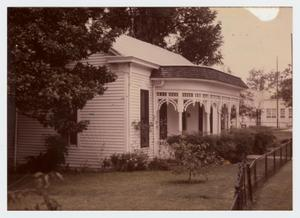 Primary view of object titled '[P. O. Elzner House Photograph #6]'.