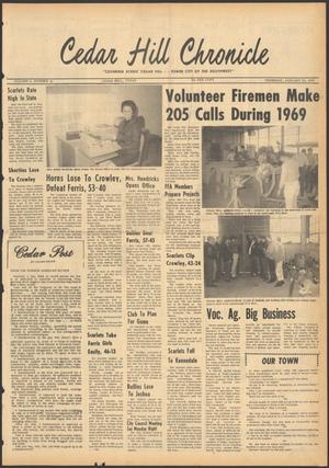 Primary view of object titled 'Cedar Hill Chronicle (Cedar Hill, Tex.), Vol. 5, No. 31, Ed. 1 Thursday, January 22, 1970'.