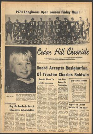 Primary view of object titled 'Cedar Hill Chronicle (Cedar Hill, Tex.), Vol. 9, No. 2, Ed. 1 Tuesday, September 6, 1977'.