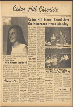 Primary view of object titled 'Cedar Hill Chronicle (Cedar Hill, Tex.), Vol. 5, No. 43, Ed. 1 Thursday, May 7, 1970'.
