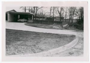 Primary view of object titled '[Photograph of Intersection in Forest Hills]'.