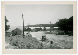 Primary view of object titled '[Photograph of a Dirt Road in Dallas]'.