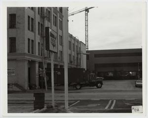 Primary view of object titled '[Photograph of Austin Street in Dallas]'.
