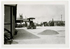 Primary view of object titled '[Photograph of Gravel Yard]'.