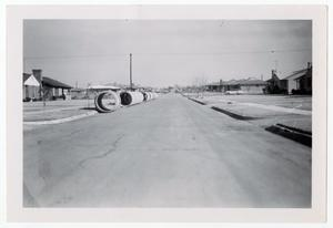 Primary view of object titled '[Photograph of Marquette Street in Dallas]'.