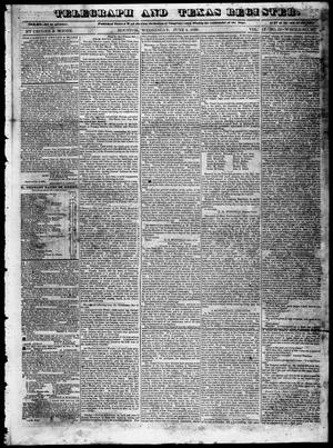 Primary view of Telegraph and Texas Register (Houston, Tex.), Vol. 4, No. 51, Ed. 1, Wednesday, June 5, 1839