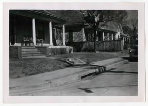 Primary view of object titled '[Photograph of Houses Seegar Street]'.