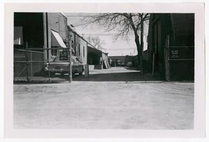 Primary view of object titled '[Photograph of Oak Lane Building]'.