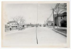 Primary view of object titled '[Photograph of a Dallas Street]'.