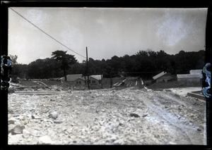 Primary view of object titled '[Photograph of Dirt Road in Dallas]'.