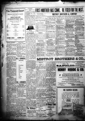 Brenham Daily Banner  (Brenham, Tex ), Vol  23, No  303, Ed  1