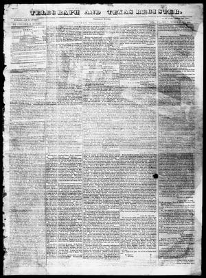 Telegraph and Texas Register (Houston, Tex.), Vol. 6, No. 7, Ed. 1, Wednesday, January 6, 1841