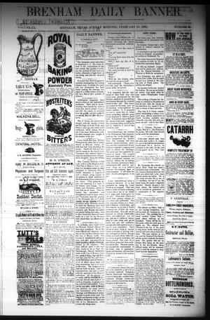 Primary view of object titled 'Brenham Daily Banner. (Brenham, Tex.), Vol. 9, No. 35, Ed. 1 Sunday, February 10, 1884'.