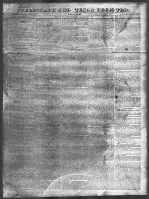Telegraph and Texas Register (Houston, Tex.), Vol. 7, No. 14, Ed. 1, Wednesday, March 23, 1842