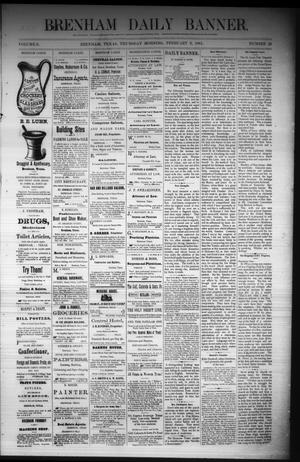 Primary view of object titled 'Brenham Daily Banner. (Brenham, Tex.), Vol. 6, No. 29, Ed. 1 Thursday, February 3, 1881'.