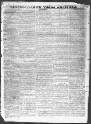Primary view of Telegraph and Texas Register (Houston, Tex.), Vol. 9, No. 2, Ed. 1, Wednesday, December 27, 1843