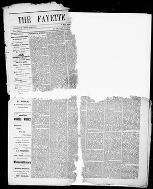 Primary view of object titled 'The Fayette County Record (La Grange, Tex.), Vol. 1, No. 37, Ed. 1, Tuesday, December 16, 1873'.