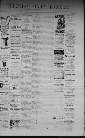 Primary view of object titled 'Brenham Daily Banner. (Brenham, Tex.), Vol. 7, No. 33, Ed. 1 Wednesday, February 8, 1882'.